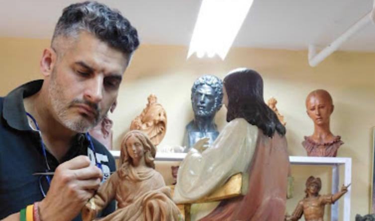 Manuel Luque Bonillo será el autor del Stmo. Cristo de la Misericordia y María Stma. de la Caridad